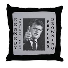 Cool Kennedy kopechne Throw Pillow