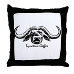 Syncerus Caffer Throw Pillow