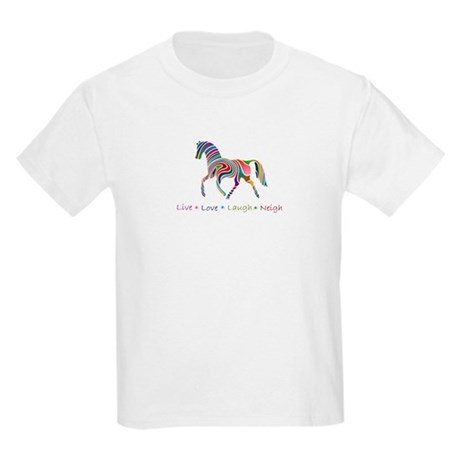 Rainbow pony Kids Light T-Shirt