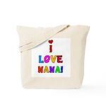 I Love Nana Tote Bag