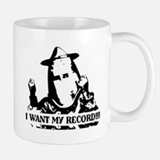 I Want My Record! Small Small Mug