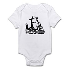 I Want My Record! Infant Bodysuit