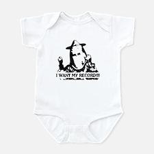 I Want My Record! Infant Bodysuit