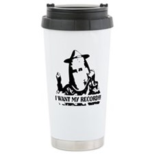 I Want My Record! Travel Mug