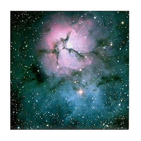 Trifid Nebula Tile Coaster