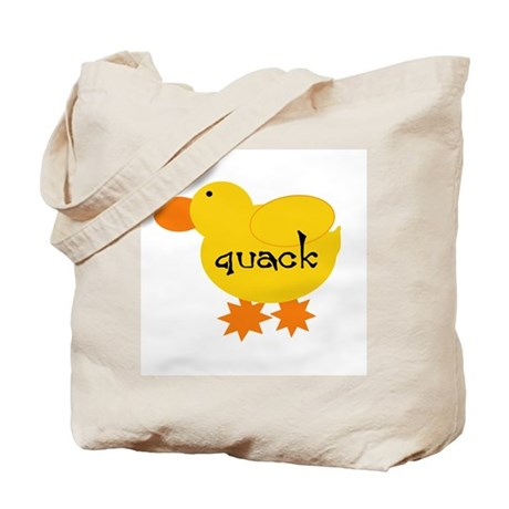 Quack the Duck Tote Bag
