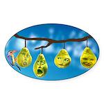 Comfort Zone Oval Sticker (50 pk)