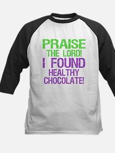PTL! Healthy Chocolate! Kids Baseball Jersey