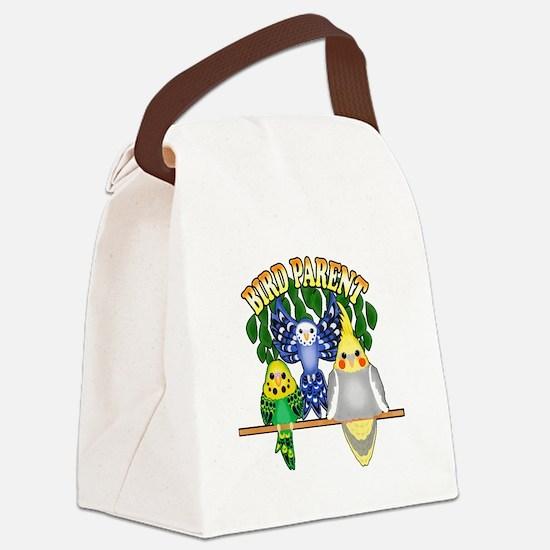 Bird Parent Canvas Lunch Bag