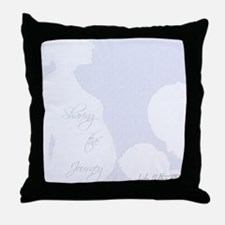 Cute Blog Throw Pillow