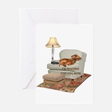 TV Doxie Greeting Cards (Pk of 10)