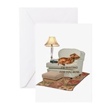 TV Doxie Greeting Cards (Pk of 20)