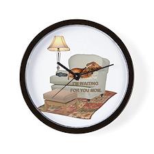 TV Doxie Wall Clock