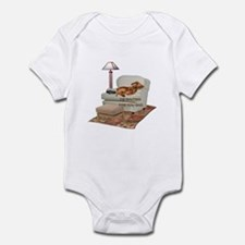 TV Doxie Dad Infant Bodysuit