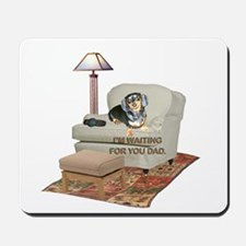 TV Dad Doxie Mousepad