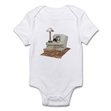 TV Dad Doxie Infant Bodysuit