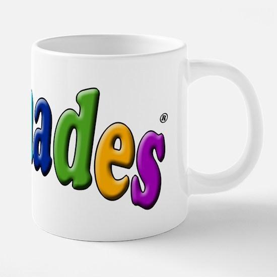 Clichades Logo Color.3 PNG. 20 oz Ceramic Mega Mug