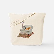 TV Dachshunds Tote Bag