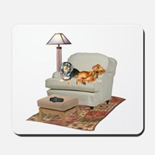 TV Dachshunds Mousepad