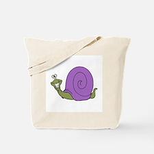 Happy Goofy Snail Tote Bag