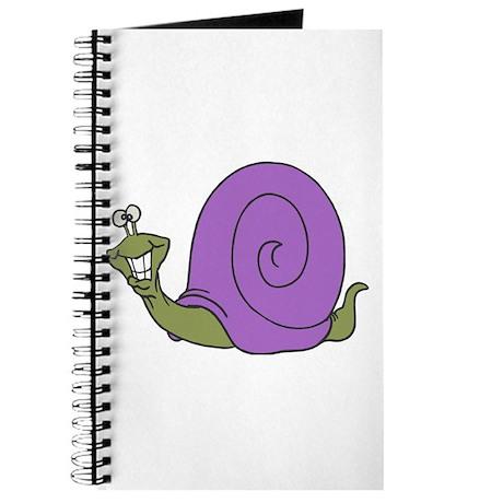 Happy Goofy Snail Journal