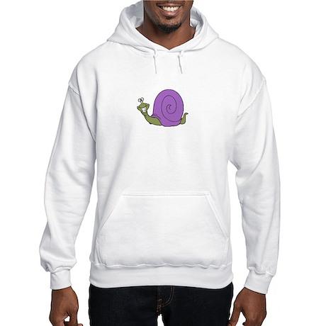 Happy Goofy Snail Hooded Sweatshirt