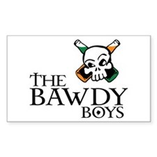 Bawdy Boys Rectangle Decal