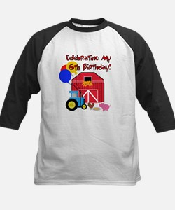 Farm 6th Birthday Tee