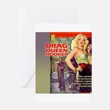 Drag Queen Hooker Greeting Cards (Pk of 10)