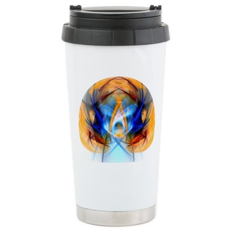 """Christos"" Stainless Steel Travel Mug"