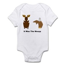 Eagle Blames Moose Infant Bodysuit