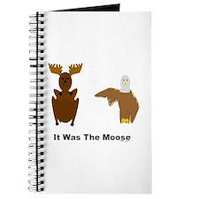 Eagle Blames Moose Journal