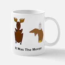 Eagle Blames Moose Mug