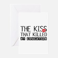 The Kiss that Killed Greeting Cards (Pk of 10)