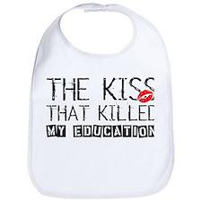 The Kiss that Killed Bib