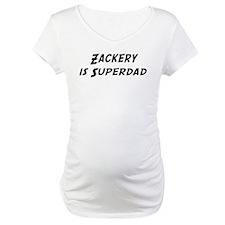 Zackery is Superdad Shirt