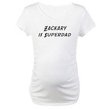 Zackary is Superdad Shirt