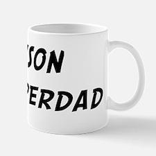 Tyson is Superdad Small Small Mug