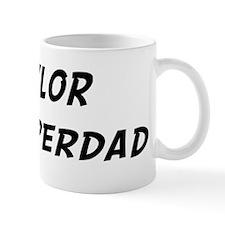 Tylor is Superdad Small Mug
