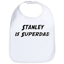 Stanley is Superdad Bib