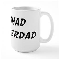Rashad is Superdad Mug