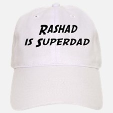 Rashad is Superdad Baseball Baseball Cap