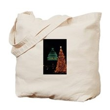 Tote Bag-XMAS IN WASHINGTON