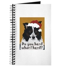 Border Collie DO YOU HERD? Journal