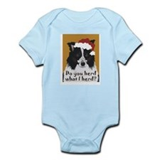 Border Collie DO YOU HERD? Infant Creeper