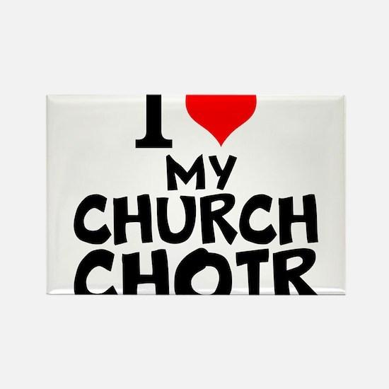 I Love My Church Choir Magnets