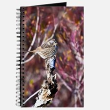 Lincoln's Sparrow Blank Journal