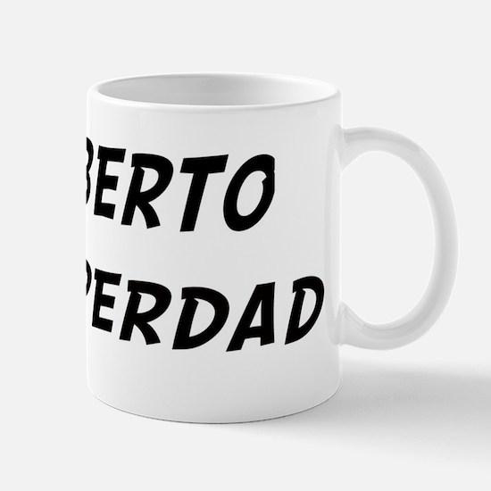 Roberto is Superdad Mug