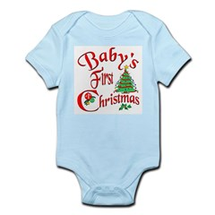 Bab's First Christmas Infant Creeper