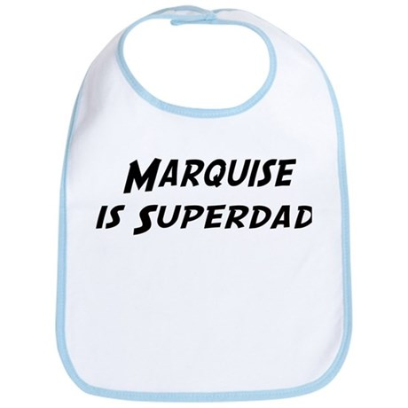 Marquise is Superdad Bib